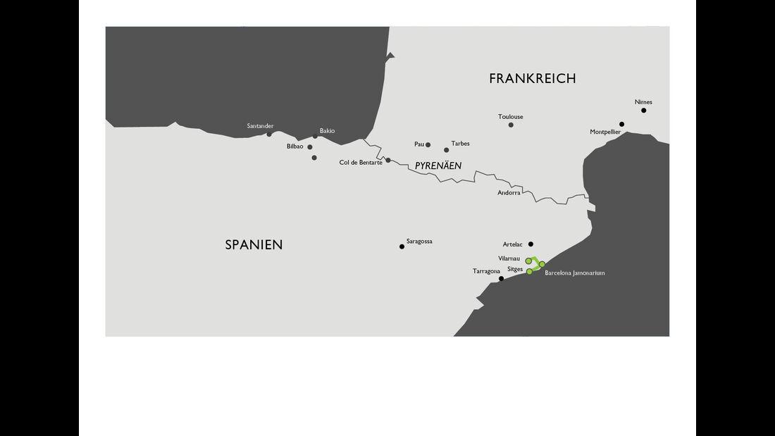 Bentley Coast to Coast Tour , Vilarnau,-Cava---Artelac,-Ziegenkäse