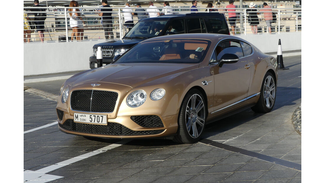 Bentley Continental - Carspotting - Abu Dhabi 2017