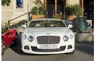 Bentley Continental -  Carspotting - Formel 1 - GP Monaco 2015