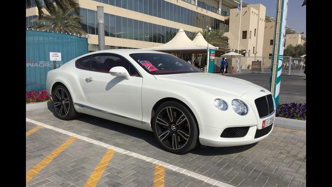 Bentley Continental - Carspotting - GP Abu Dhabi 2016