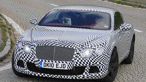 Bentley Continental Erlkönig