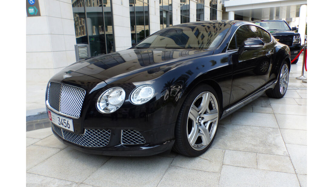 Bentley Continental - GP Abu Dhabi - Carspotting 2015