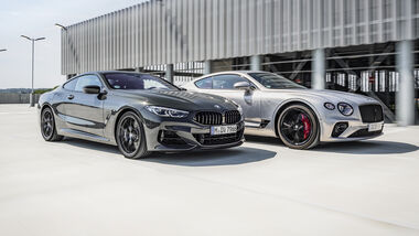 Bentley Continental GT, BMW M850i, Exterieur