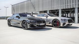 Bentley Continental GT, BMW M850i, Exterieur
