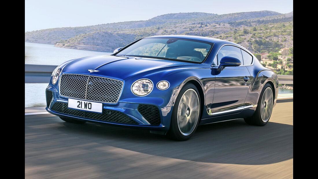Bentley Continental GT, Best Cars 2020, Kategorie F Luxusklasse
