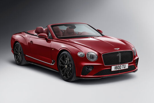 Bentley Continental GT Cabrio Number 1 Edition by Mulliner