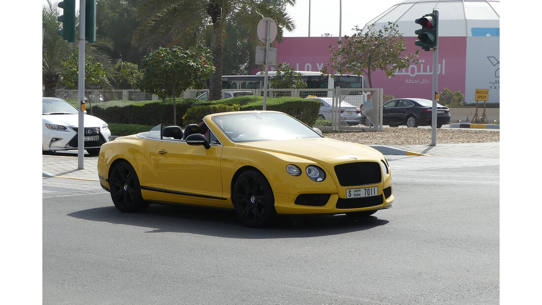 Bentley Continental GT - Carspotting - GP Abu Dhabi 2018