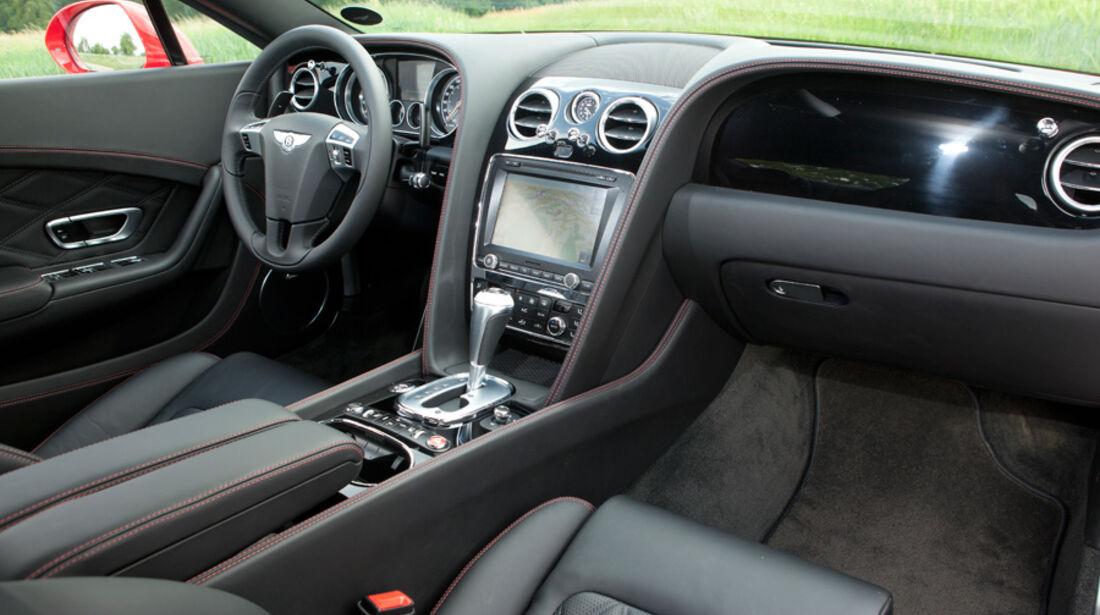 Bentley Continental GT, Cockpit, Innenraum