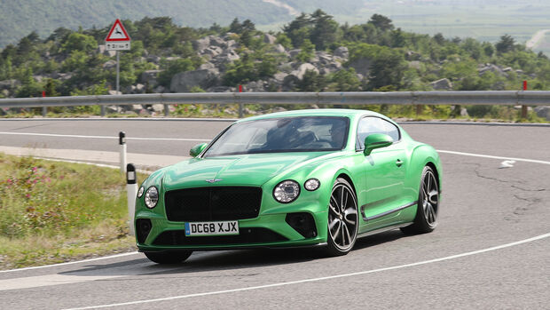 Bentley Continental GT Coupé W12, Exterieur