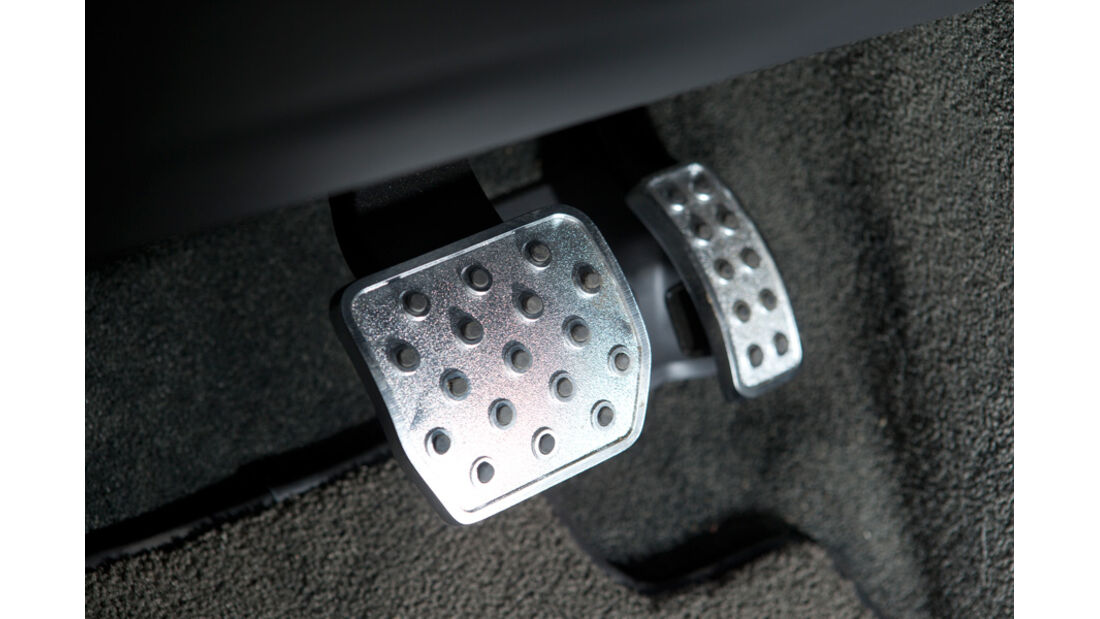 Bentley Continental GT, Detail, Pedale