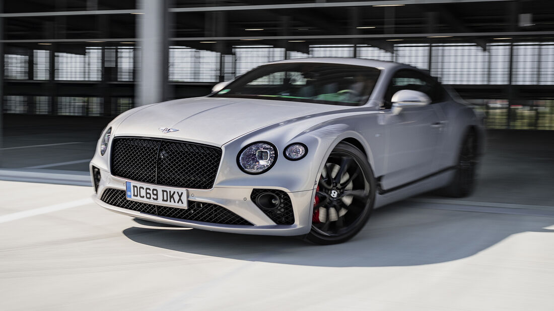 Bentley Continental GT, Exterieur