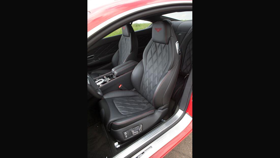 Bentley Continental GT, Fahrersitz, Vordersitz