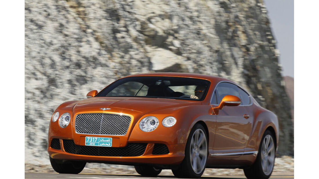 Bentley Continental GT, Front