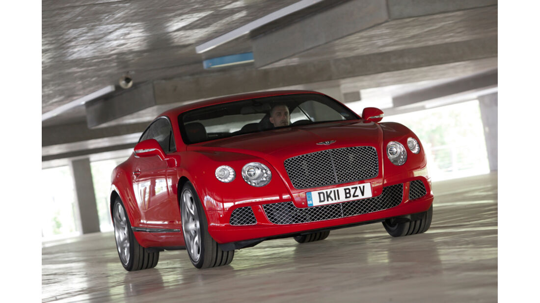 Bentley Continental GT, Frontansicht