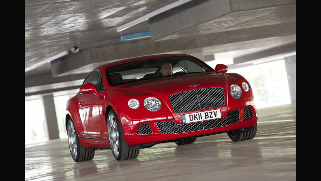 Bentley Continental GT, Frontansicht