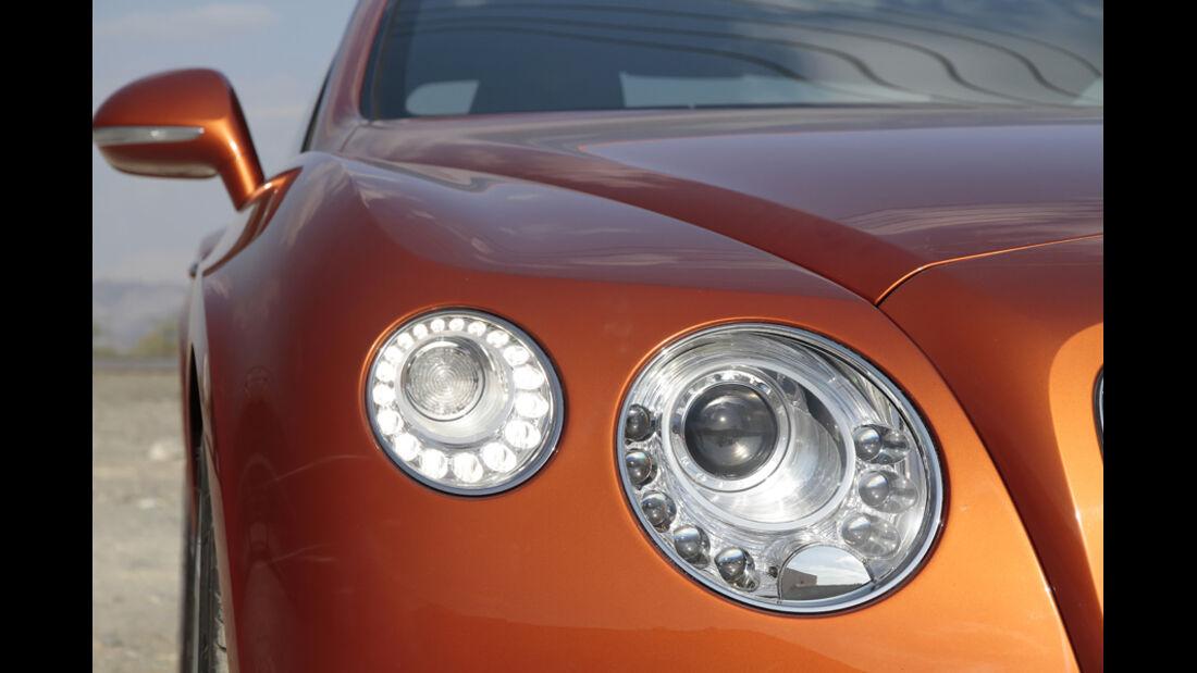 Bentley Continental GT, Frontlichter