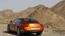 Bentley Continental GT, Heck