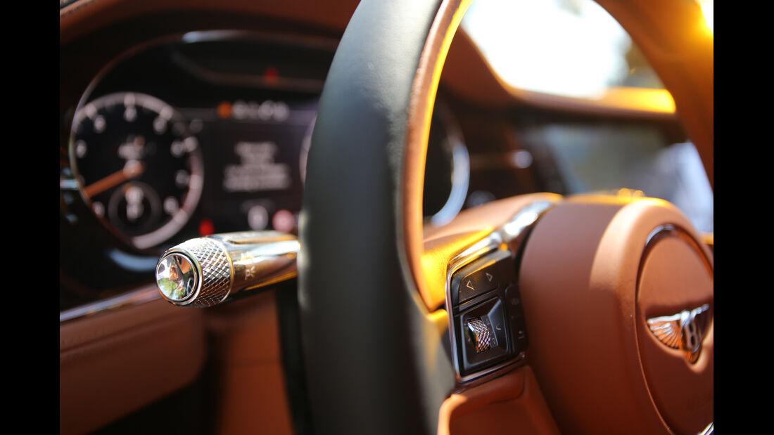 Bentley Continental GT Interieur