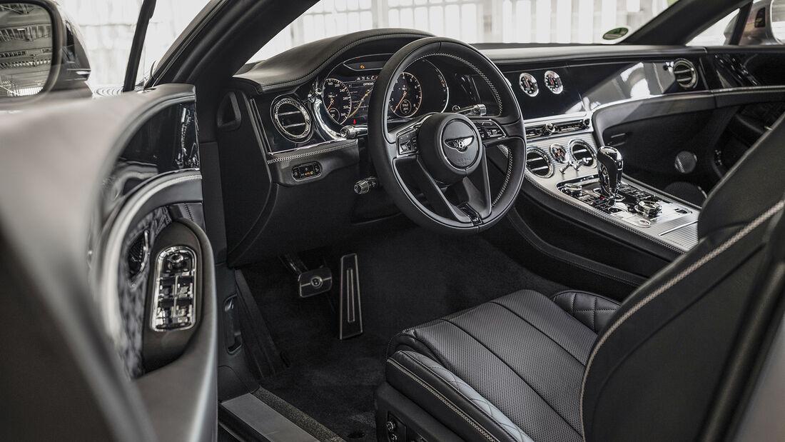 Bentley Continental GT, Interieur