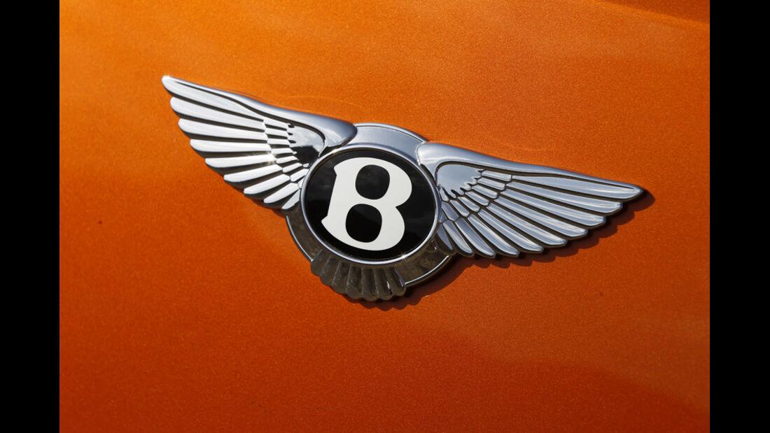 Bentley Continental GT, Logo