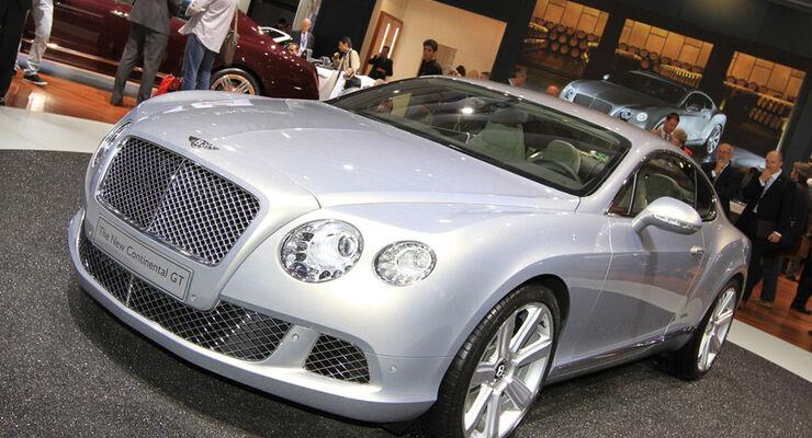 Bentley Continental GT Paris 2010