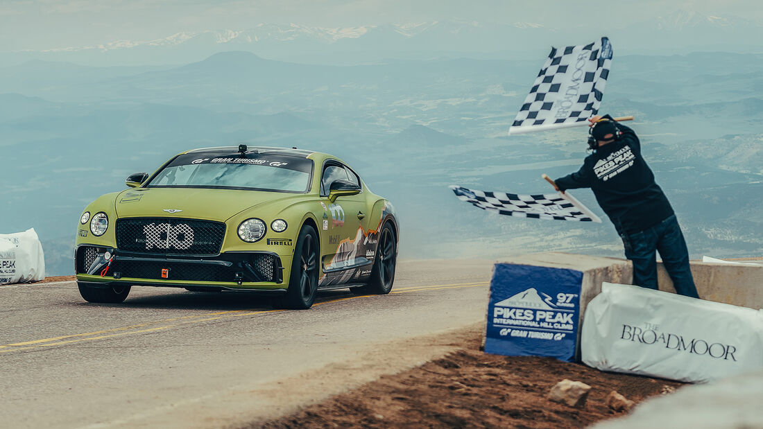 Bentley Continental GT - Pikes Peak 2019