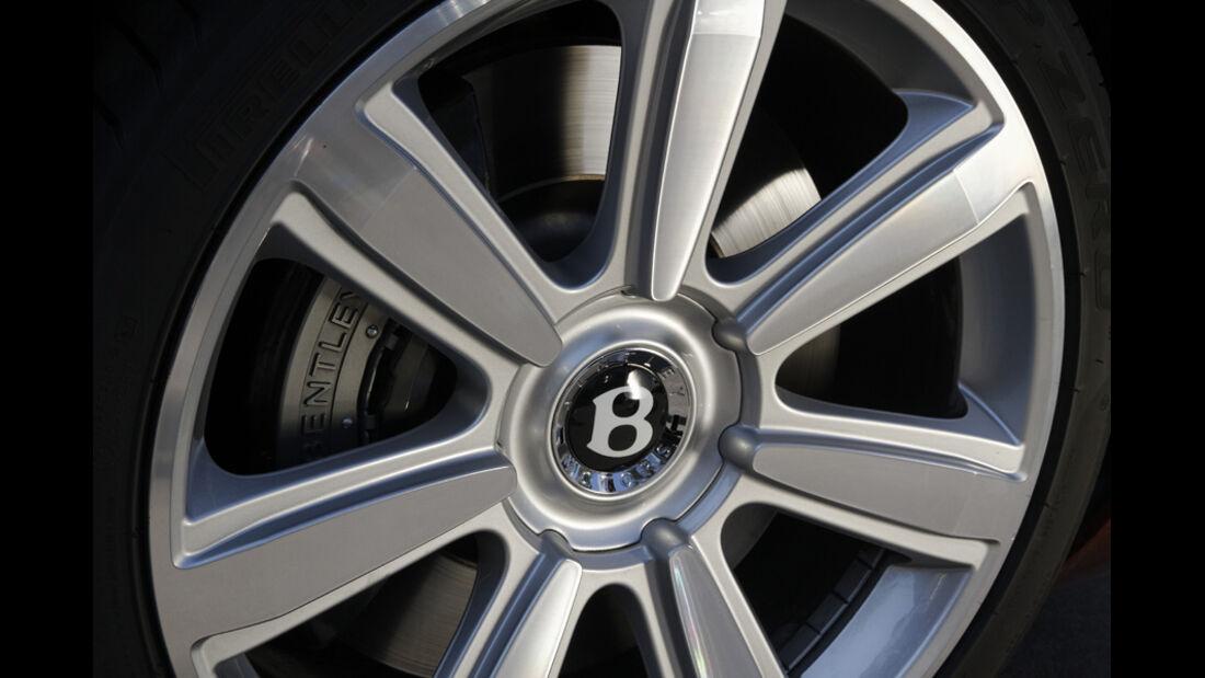 Bentley Continental GT, Rad, Bremsbelege, Felge