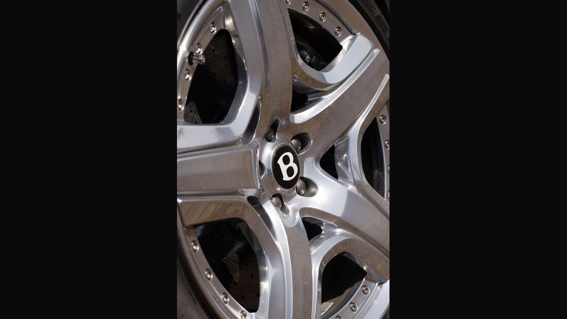 Bentley Continental GT, Rad, Felge, Detail