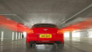 Bentley Continental GT, Rückansicht, Heck, Rücklichter
