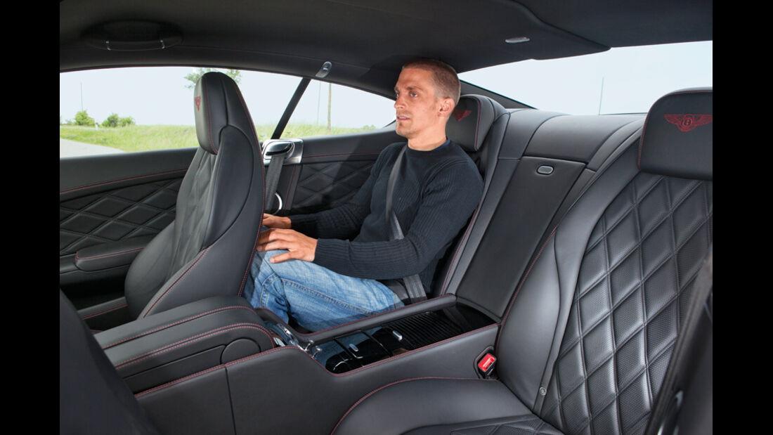 Bentley Continental GT, Rücksitz, Jörn Thomas