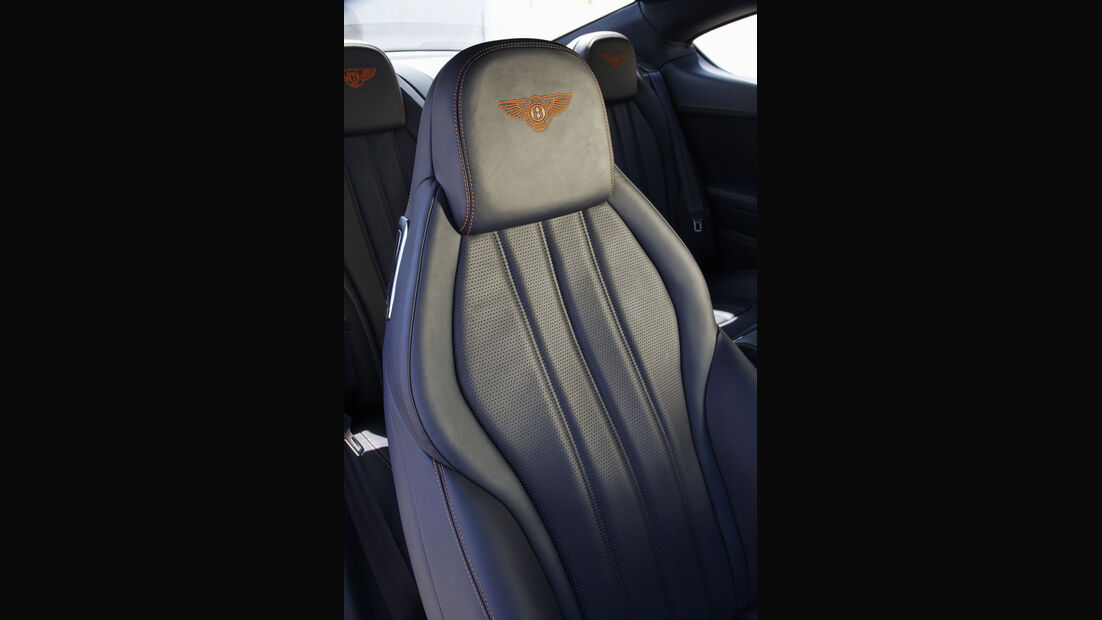 Bentley Continental GT, Sitz