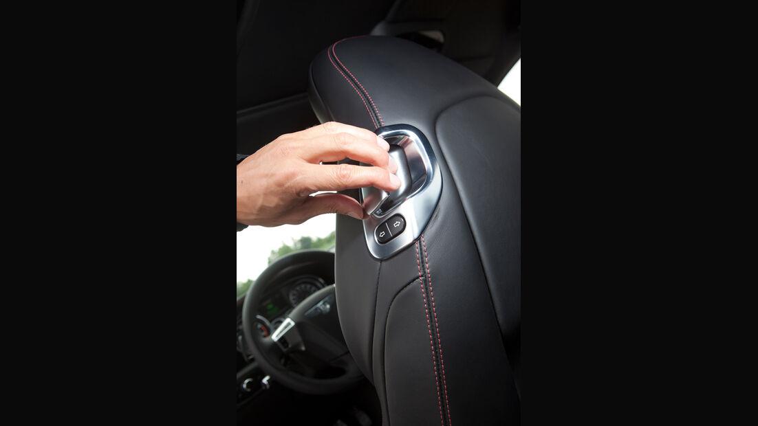 Bentley Continental GT, Sitz, Schalter, Verstellbar