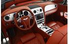 Bentley Continental GT Speed Cabrio, Innenraum