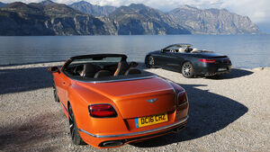 Bentley Continental GT Speed Cabrio, Mercedes-AMG S 65 Cabrio