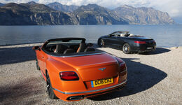 Bentley Continental GT Speed Cabrio, Mercedes-AMG S 65 Cabrio