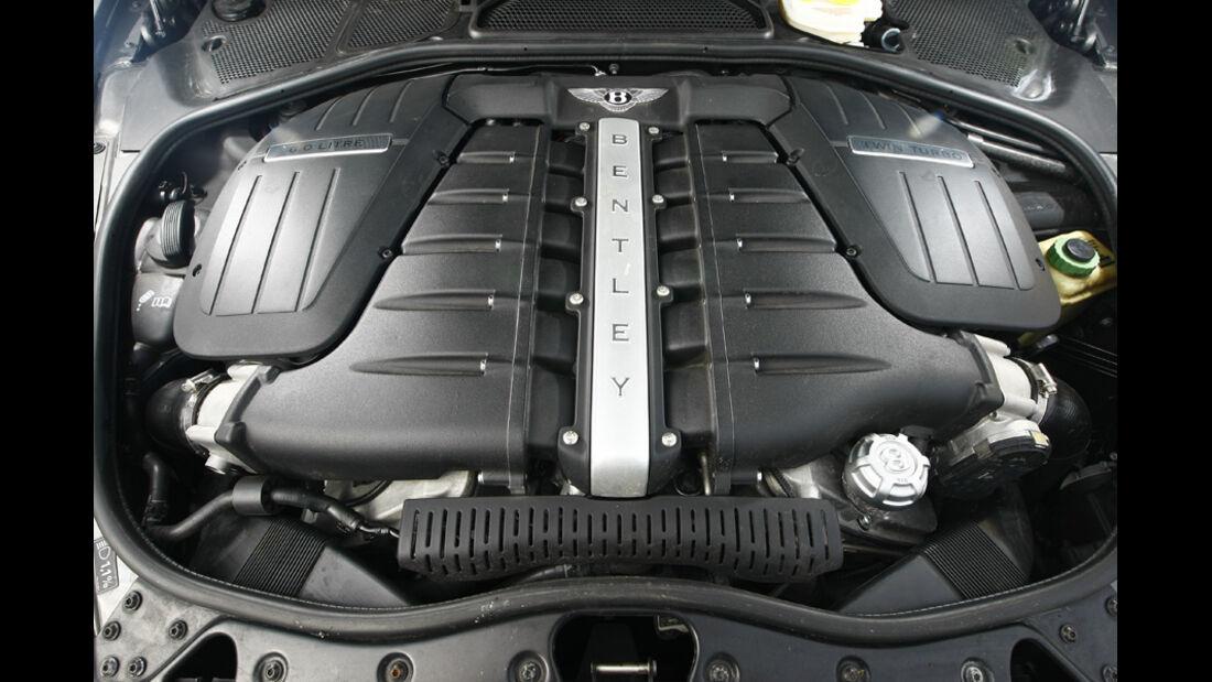 Bentley Continental GT Speed Cabrio, Motor