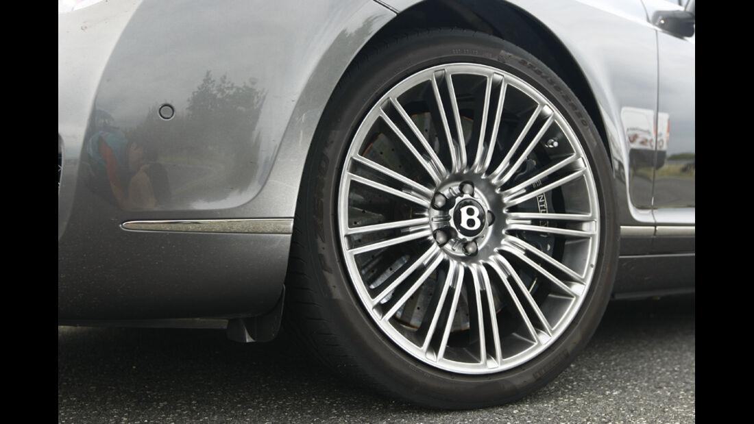Bentley Continental GT Speed Cabrio, Rad