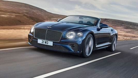 Bentley Continental GT Speed Convertible Cabrio