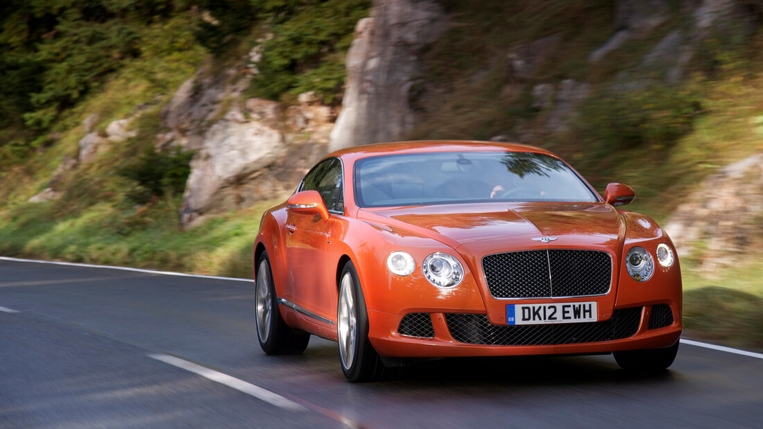 Bentley Continental GT Speed, Frontansicht