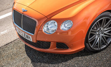 Bentley Continental GT Speed, Frontscheinwerfer, Rad
