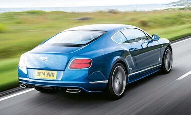 Bentley Continental GT Speed, Heckansicht