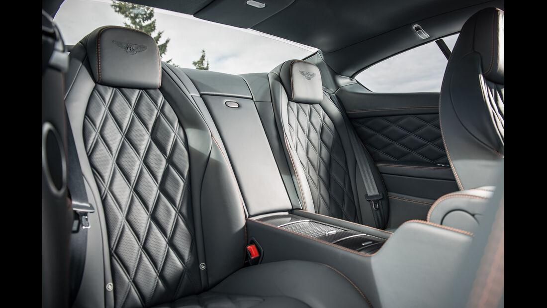 Bentley Continental GT Speed, Ledersitz, Sitze
