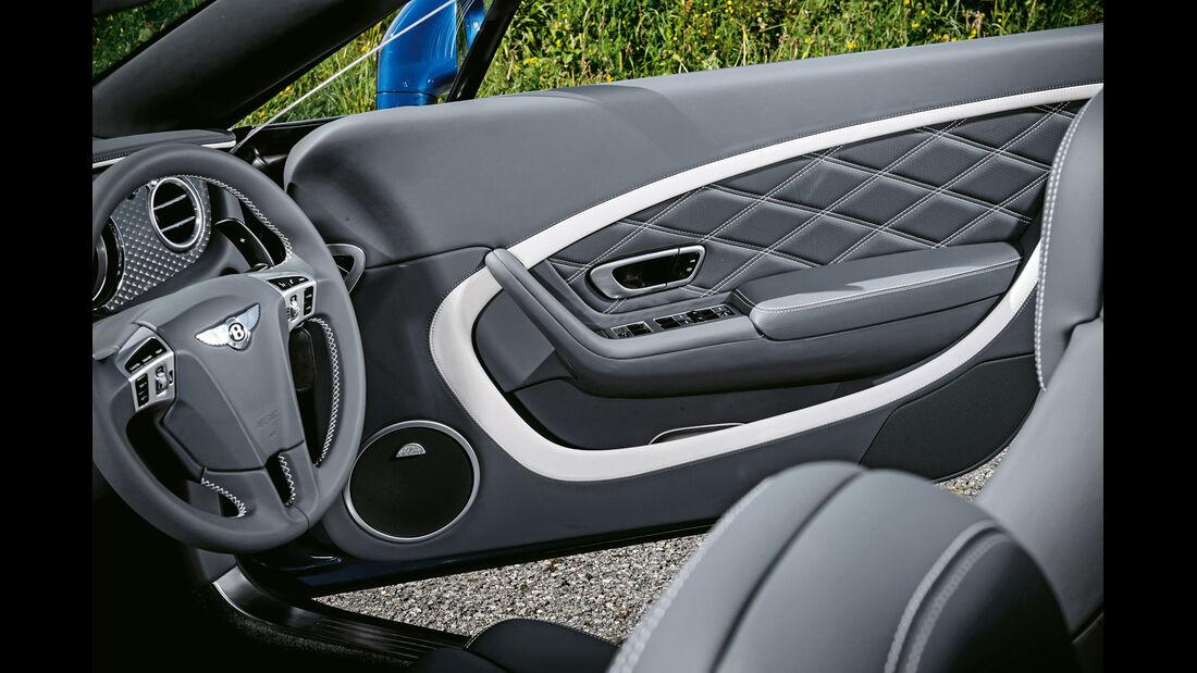 Bentley Continental GT Speed, Lenkrad, Interieur, Türinnenseite
