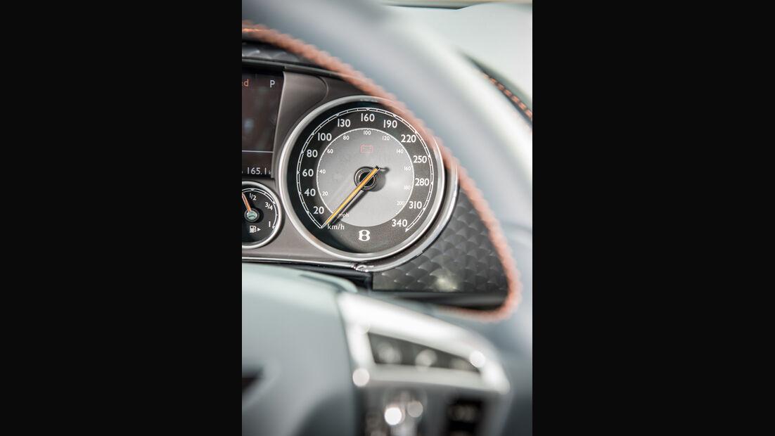 Bentley Continental GT Speed, Rundinstrument, Kippschalter