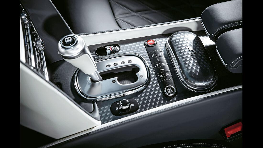 Bentley Continental GT Speed, Schalthebel