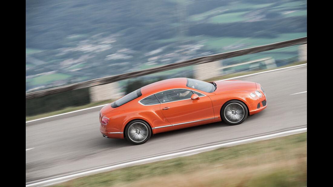 Bentley Continental GT Speed, Seitenansicht