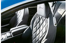 Bentley Continental GT Speed, Sitz, Polster