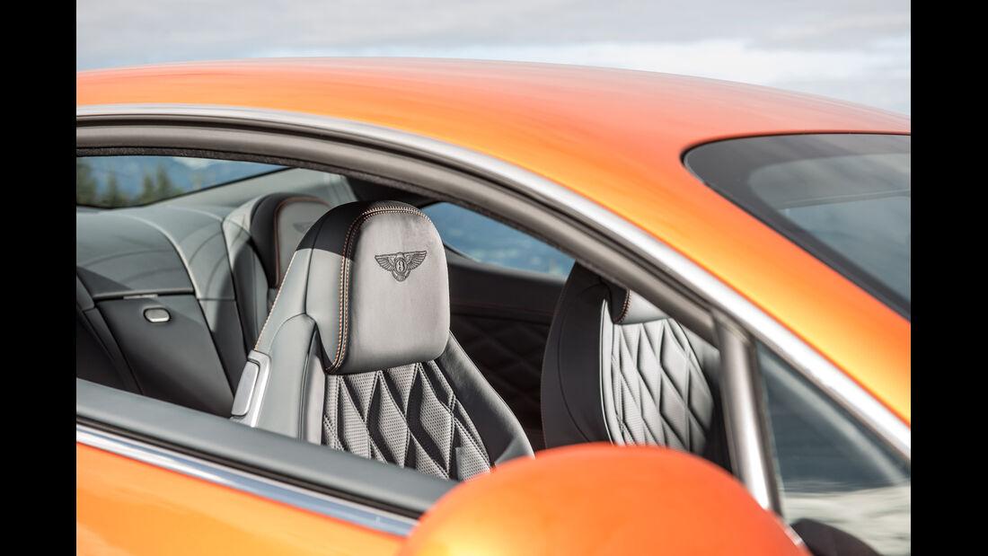Bentley Continental GT Speed, Sitze
