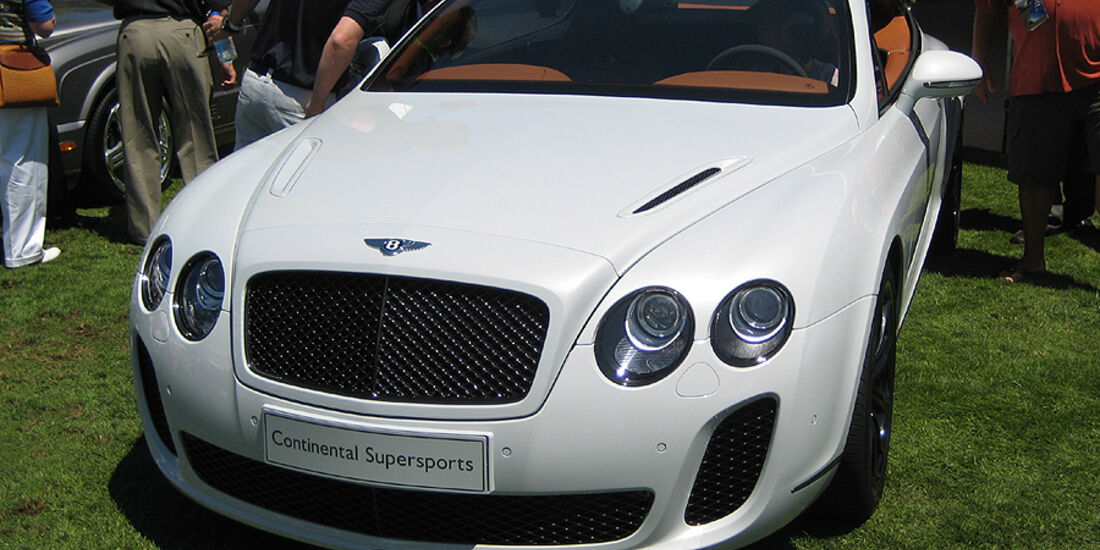 Bentley Continental GT Speed Supersports