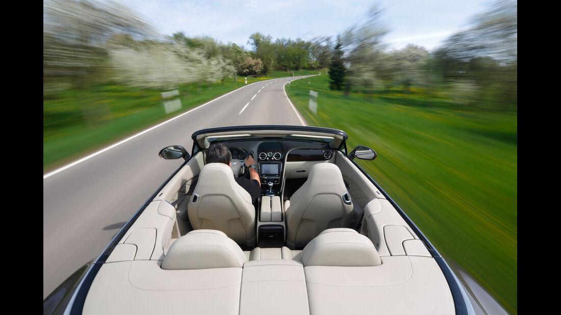 Bentley Continental GT Speed W12 Convertible, Fahrersicht